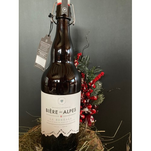 Bière blonde des Alpes
